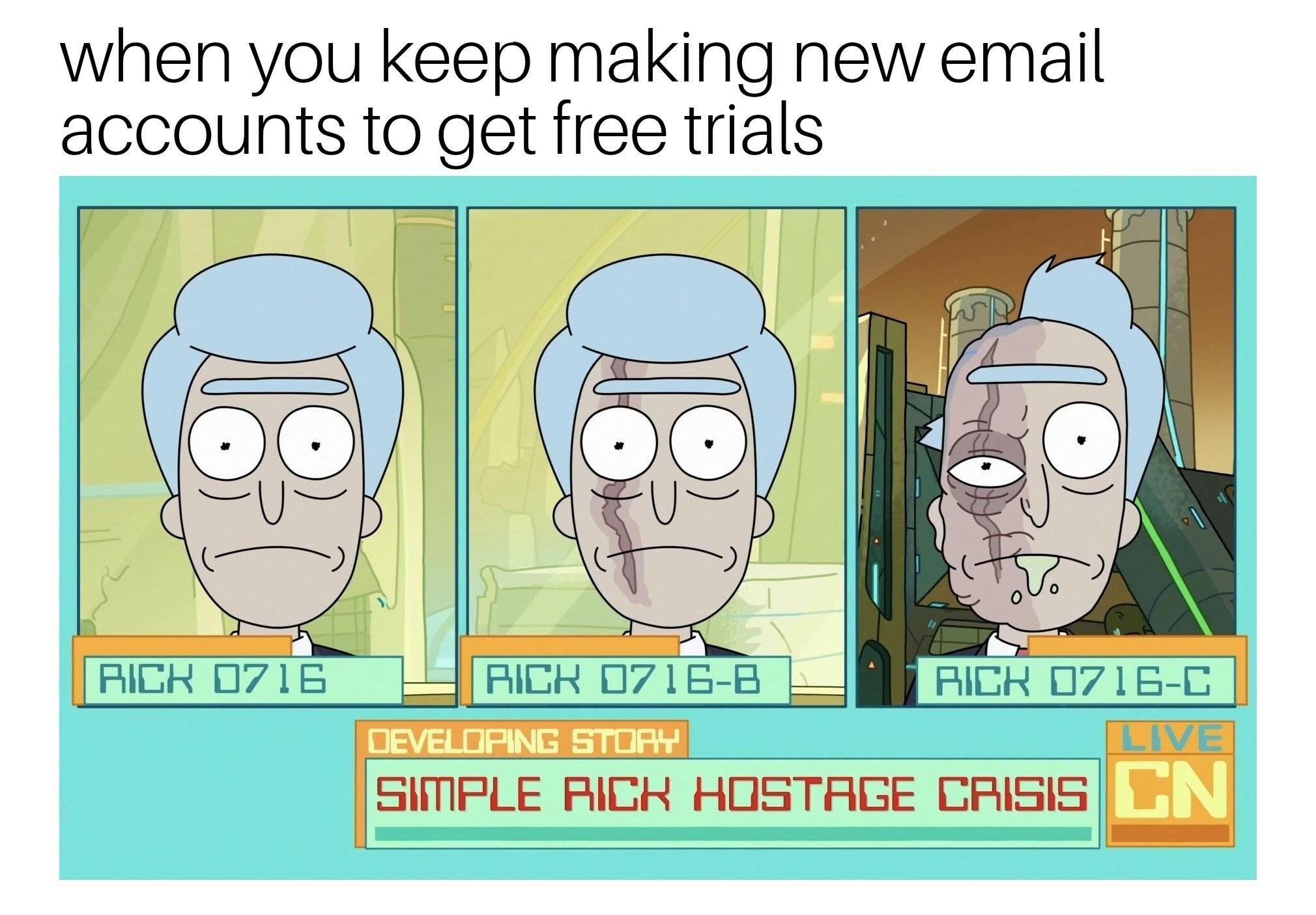 18 Rick And Morty Memes Soaking Cool