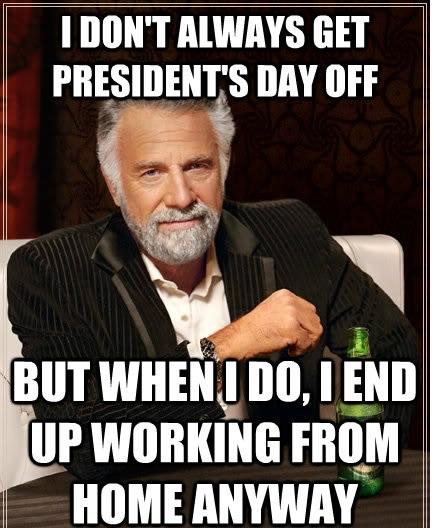 Presidents Days Memes Soaking Cool